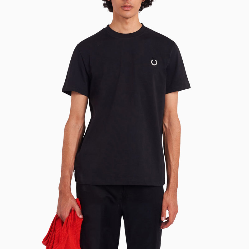 Fred Perry x Raf Simons Laurel Wreath T-Shirt - Black