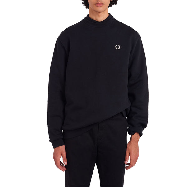 Fred Perry x Raf Simons Laurel Wreath Sweatshirt - Black