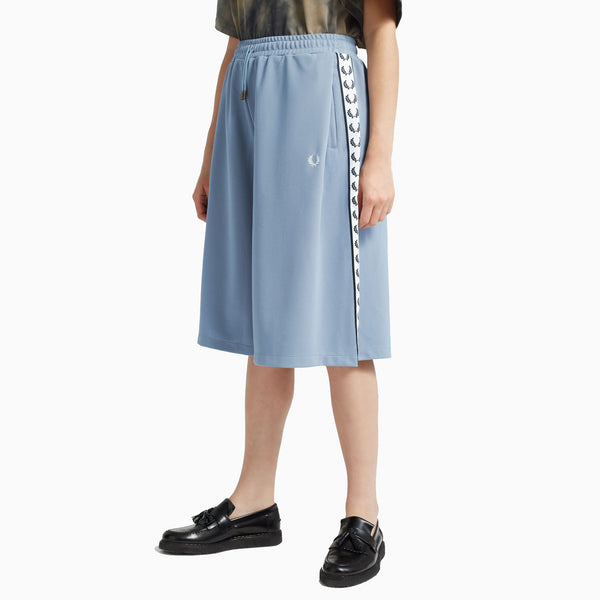 Fred Perry Akane Culotte Track Pant - Stone Blue