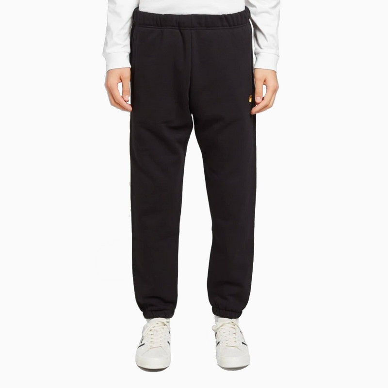 Carhartt Chase Sweat Pant - Black/Gold