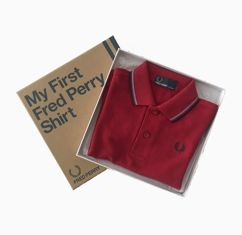 My First Fred Perry Shirt - Deepr/Lts/Nvy