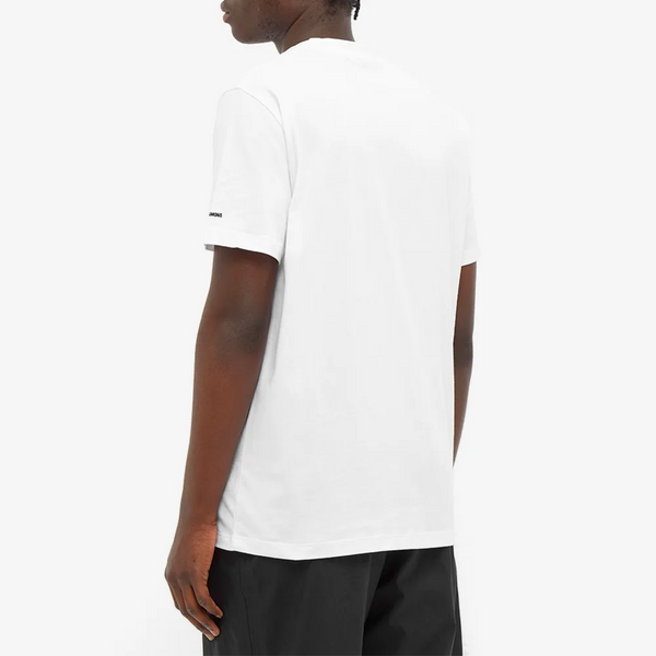 Fred Perry x Raf Simons Laurel Wreath Pin T-Shirt - White