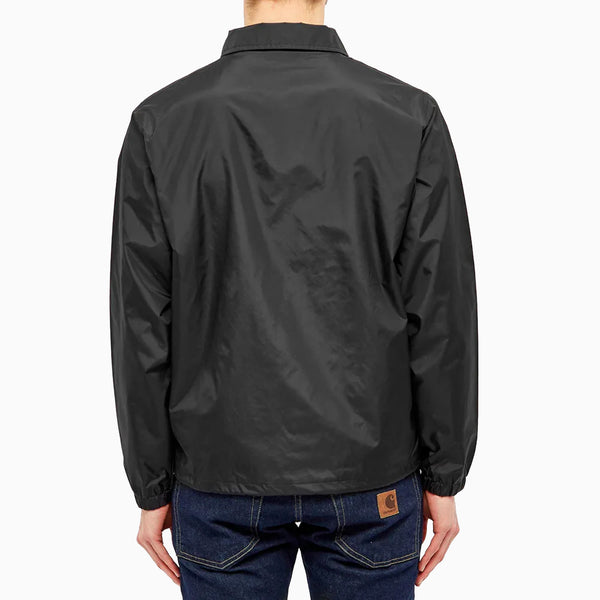 Carhartt Script Coach Jacket - Black/Wax