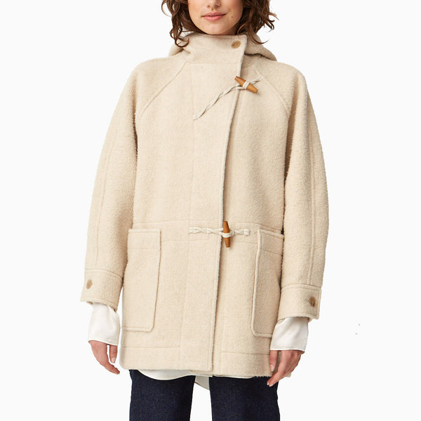 Wood Wood Sif Duffle Coat - Light Beige