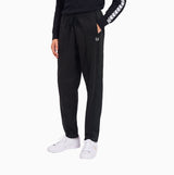 Fred Perry Tonal Tape Track Pant - Black