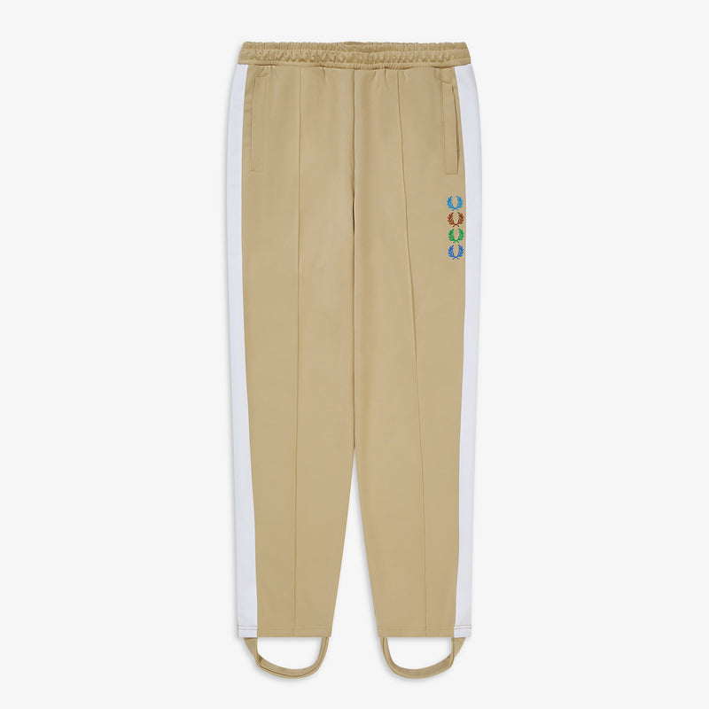 Fred Perry x Beams Stirrup Track Pants - Camel