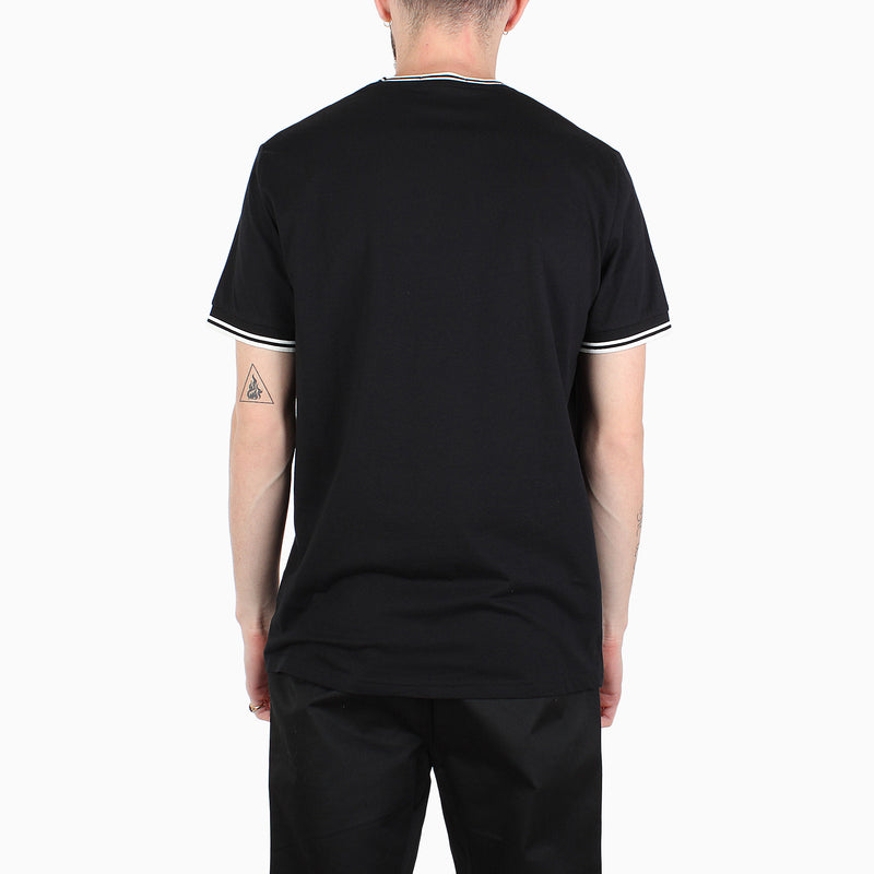 Fred Perry Twin Tipped T-Shirt - Black