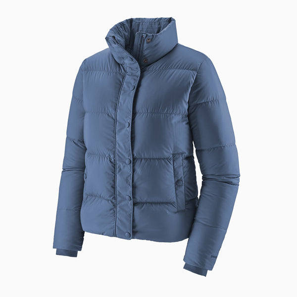 Patagonia W' Silent Down Jacket - Wooley Blue