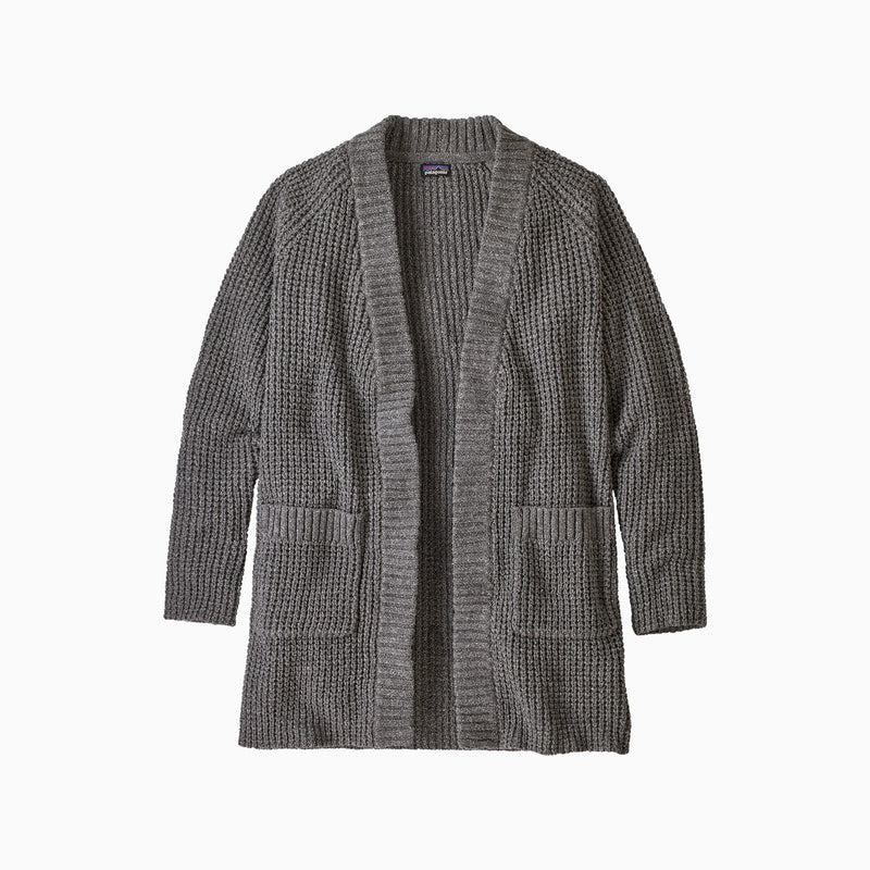 Patagonia W's Off Country Cardigan - Drifter Grey