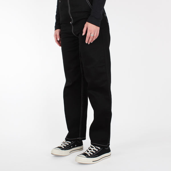 "Carhartt Women's Armanda Pant ""Griffith"" - Black Rigid"