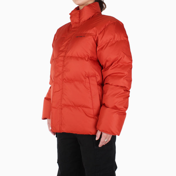 Carhartt Women's Deming Jacket - Brick Orange