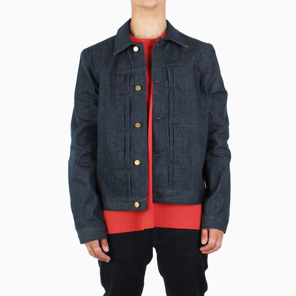 Nudie 'Year Of The Rat' Vinny Jacket - Dry Denim