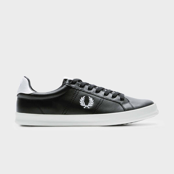 Fred Perry B721 Vulc Leather - Black