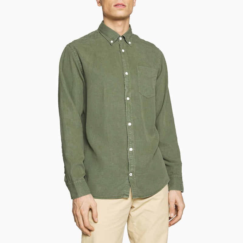 NN07 5029 Levon BD Collar Shirt - Leaf Green