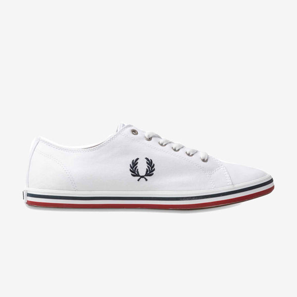 Fred Perry Kingston Twill - White