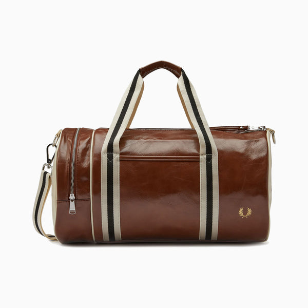 Fred Perry Classic Barrel Bag - Tan