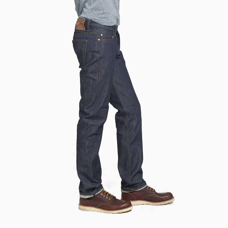 Naked & Famous Weird Guy Fade Selvedge - Dirty Fade