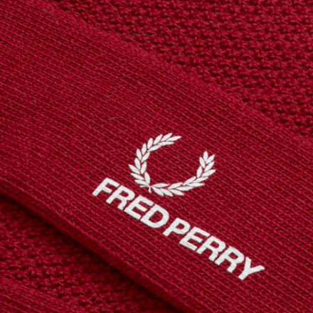 Fred Perry Tipped Socks - Claret