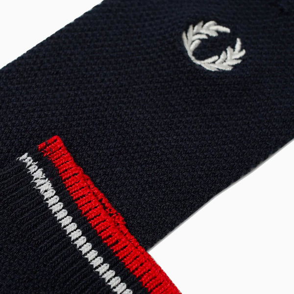 Fred Perry Tipped Socks - Navy