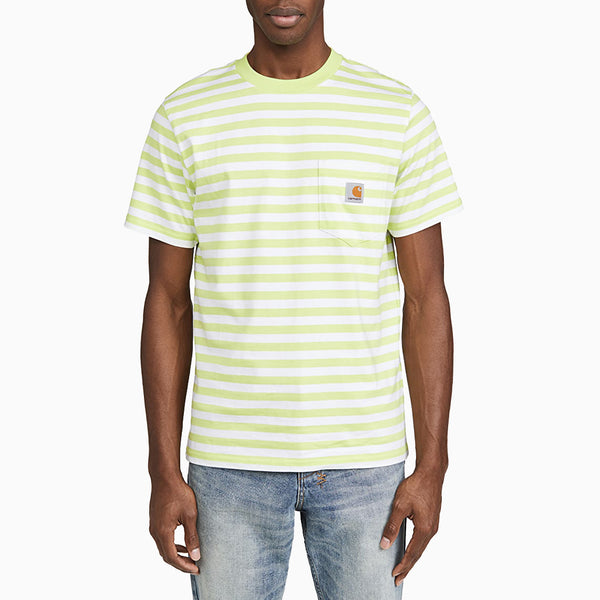 Carhartt Scotty Pocket T-Shirt - Lime/White