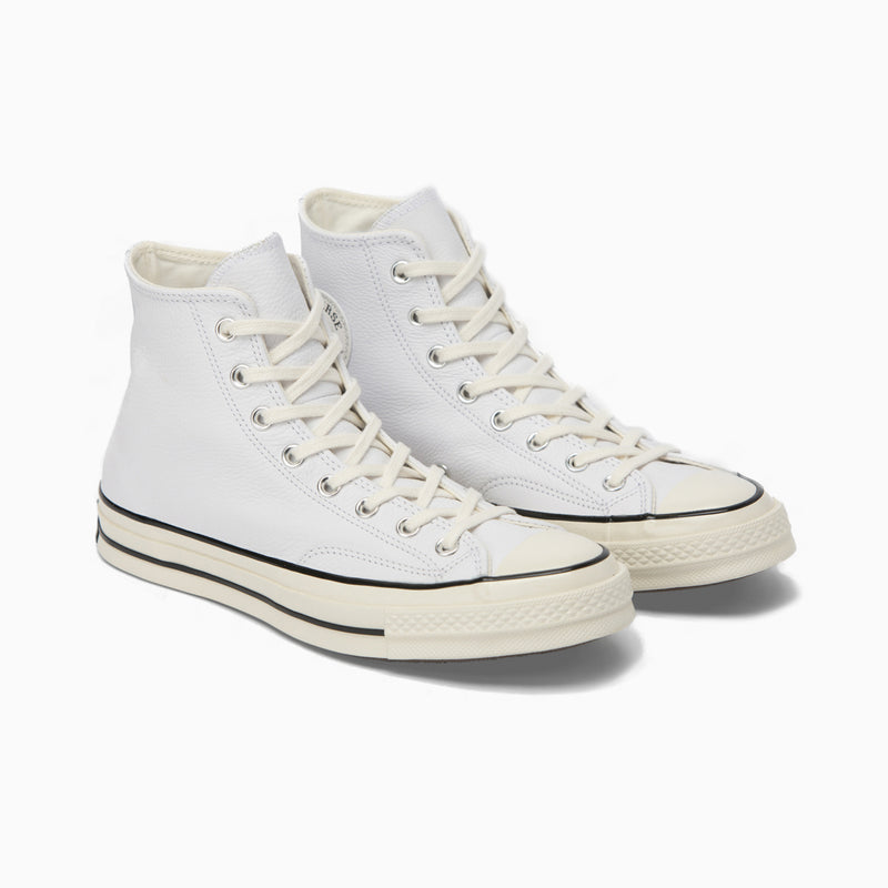 Converse Chuck Taylor 70 Hi - White Leather/Black