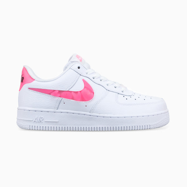 Nike Air Force 1'07 SE - White/Sunset Pulse/Black/Clear