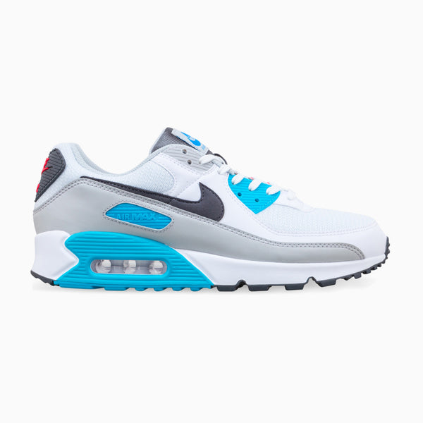 Nike Air Max 90 - White/Iron Grey/Chlorine Blue