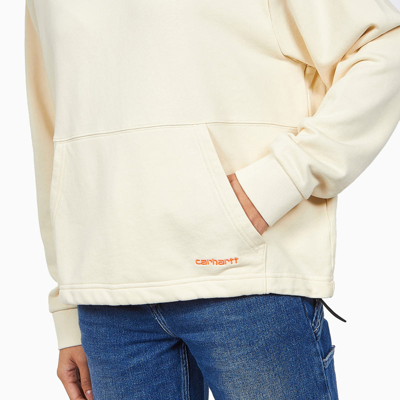 Carhartt Women's Hooded Neo Sweat - Natural/Pop