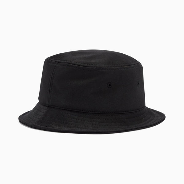 Fred Perry Arch Branded Tricot Bucket Hat - Black