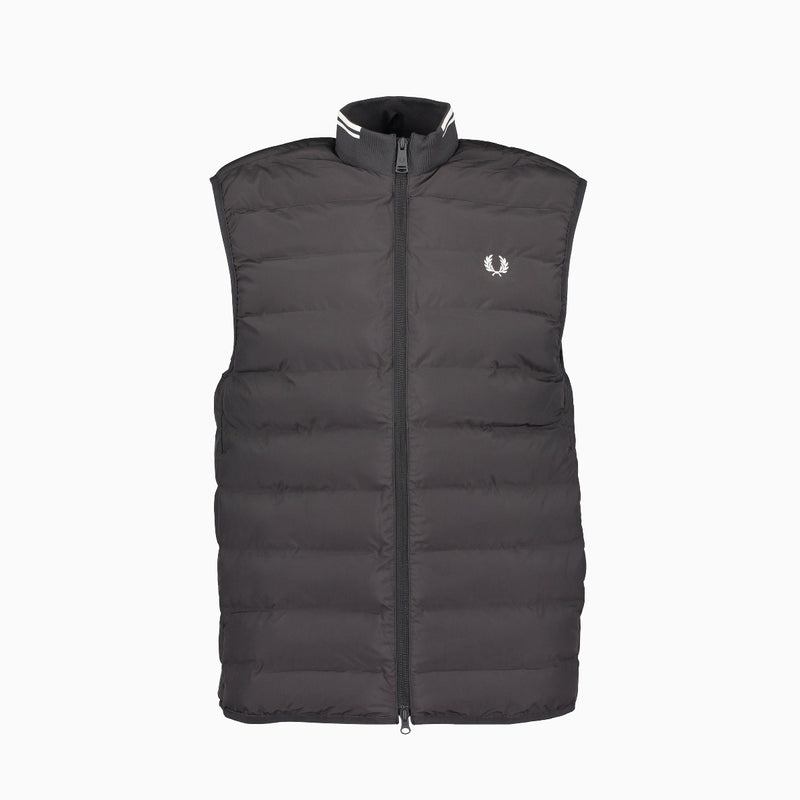 Fred Perry Insulated Gilet - Black