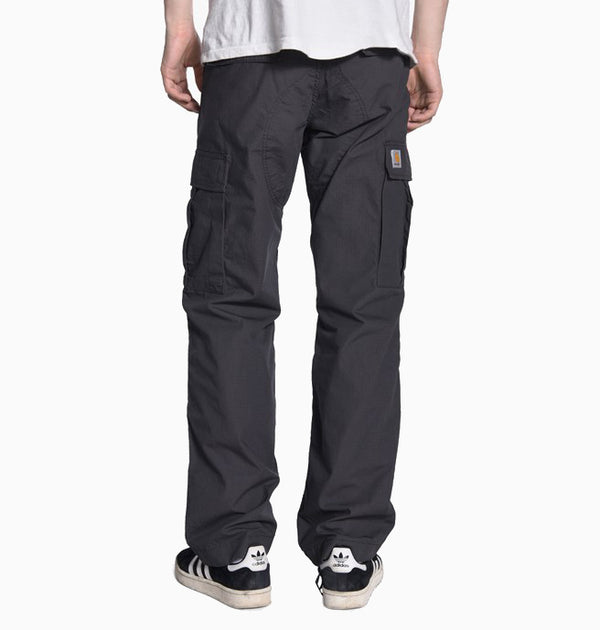 Carhartt Regular Cargo Pant - Black Rinsed