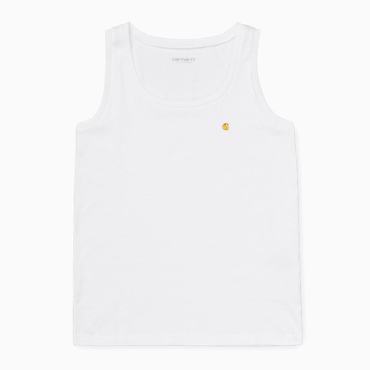 Carhartt Women's Chasy A-Shirt - White/ Gold