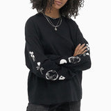 Carhartt Women's Long Sleeved Palms T-Shirt - Black