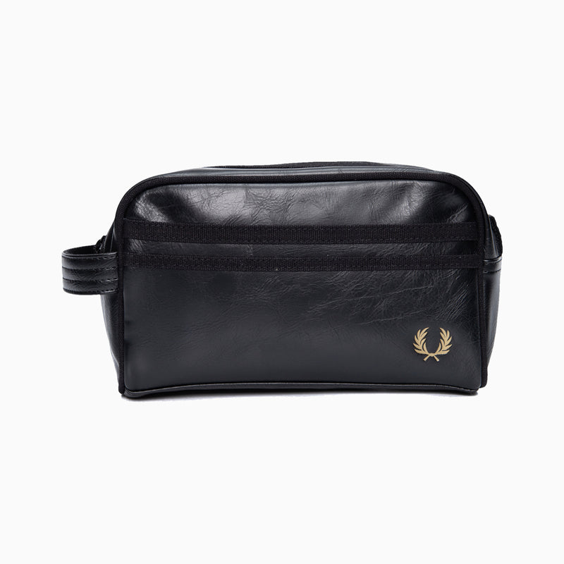 Fred Perry Tonal Classic Wash Bag - Black