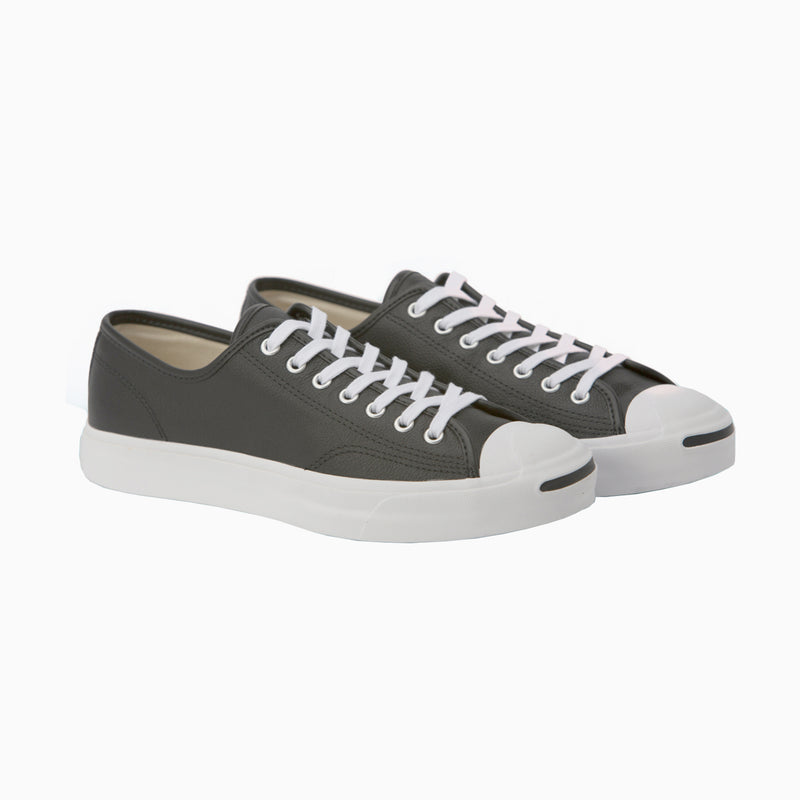 Converse Jack Purcell Foundational Leather Low Top - Black