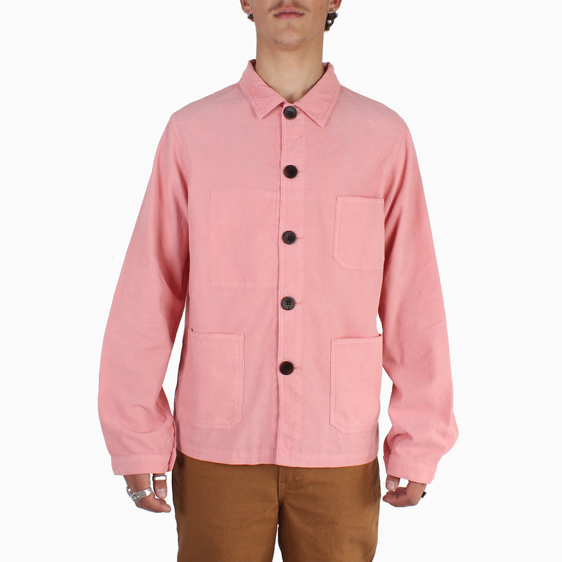 La Paz BAPTISTA 100% Cotton Worker Jacket - Coral