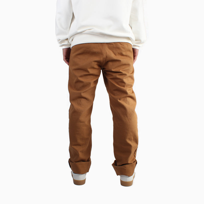 Left Field Duck Work Uniform Chinos - Caramel