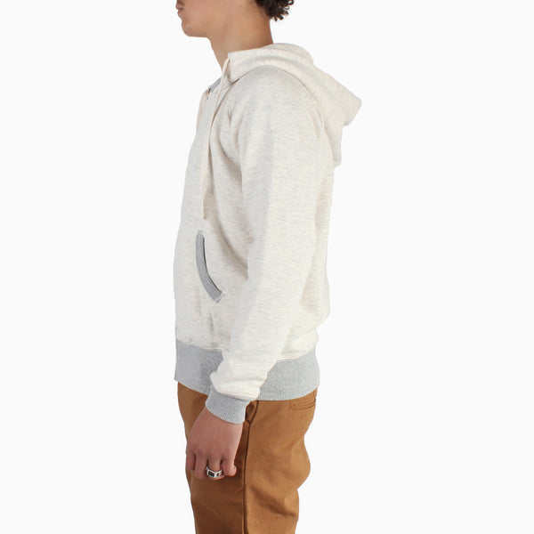 Left Field Fleece Hooded Sweatshirt - Oatmeal