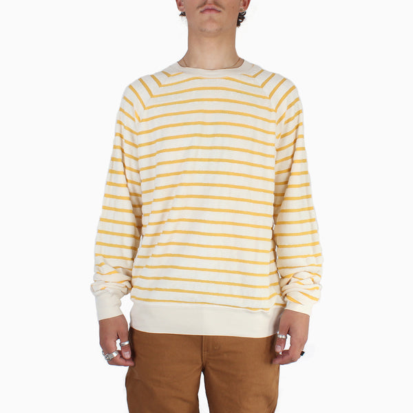 La Paz CUNHA Towel Sweatshirt - Yellow Stripes