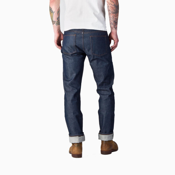 Naked & Famous Weird Guy Indigo Selvedge - Indigo