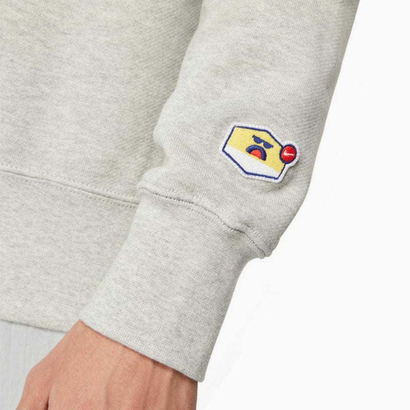"Nike Sports Wear AirMoji Crew ""Grumpy"" - Heather Grey"