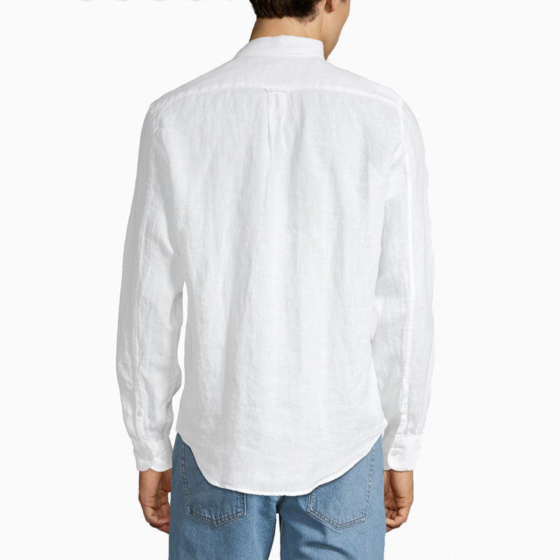 NN07 New Derek Linen Shirt - White