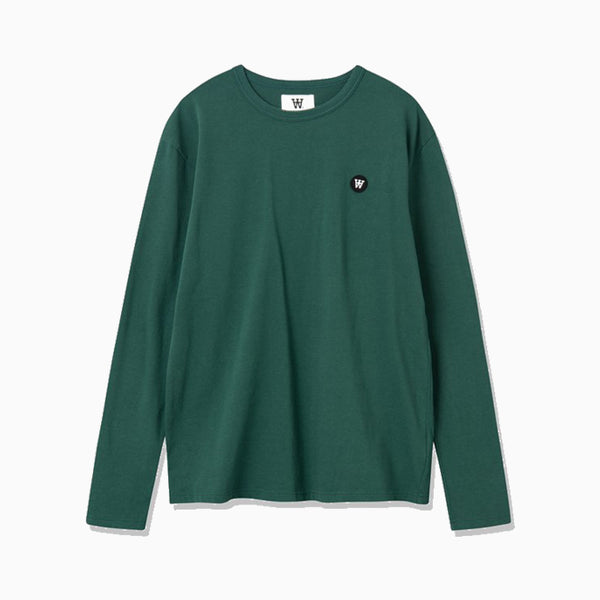 Wood Wood Mel Long Sleeve - Faded Green