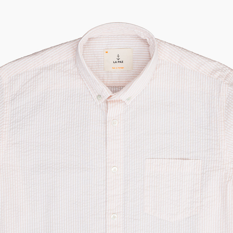 La Paz LARAN JEIRA 100% Cotton Shirt - Salmon