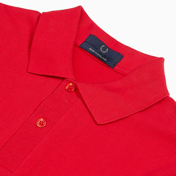 Fred Perry Made In England Original Fred Perry Shirt - England Red
