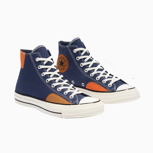 Converse Chuck Taylor Ripstop Hi - Midnight Navy/Dark Soba/Magma Orange
