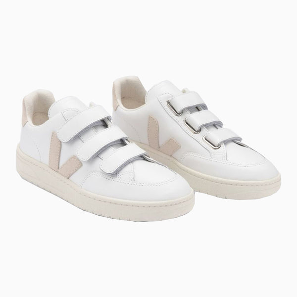 Veja V-Lock Leather - Extra-White/Sable