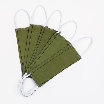 DONATE Non-Medical Reusable Cotton Face Mask - Package of 5