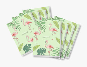 Thank You Flamingo - Set of 8
