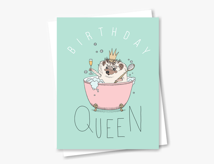 Bathtub Birthday Queen